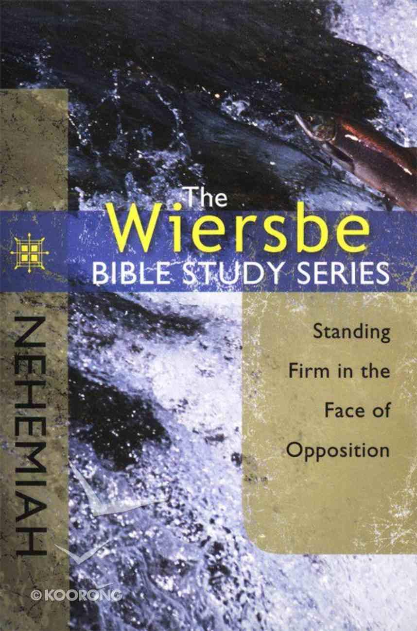Nehemiah (Wiersbe Bible Study Series) Paperback