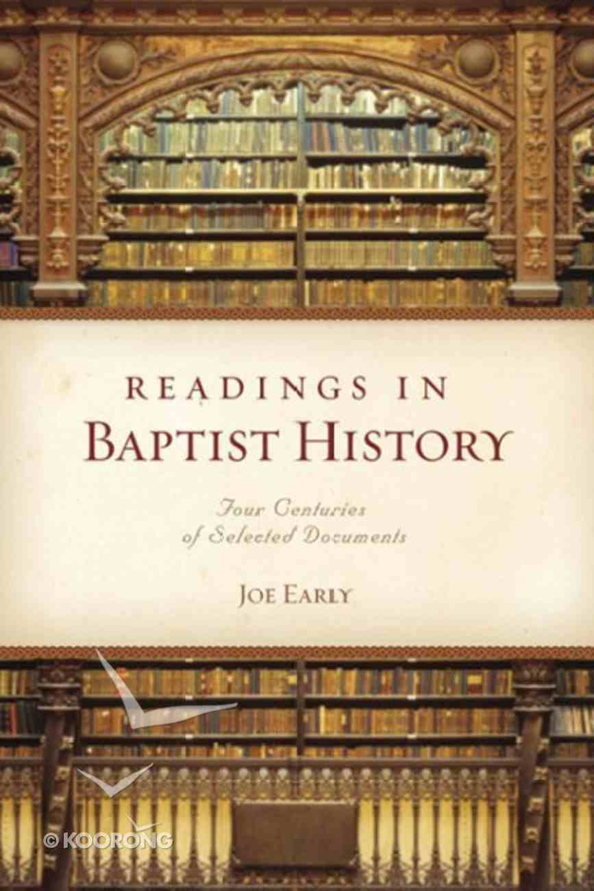 Readings in Baptist History Paperback