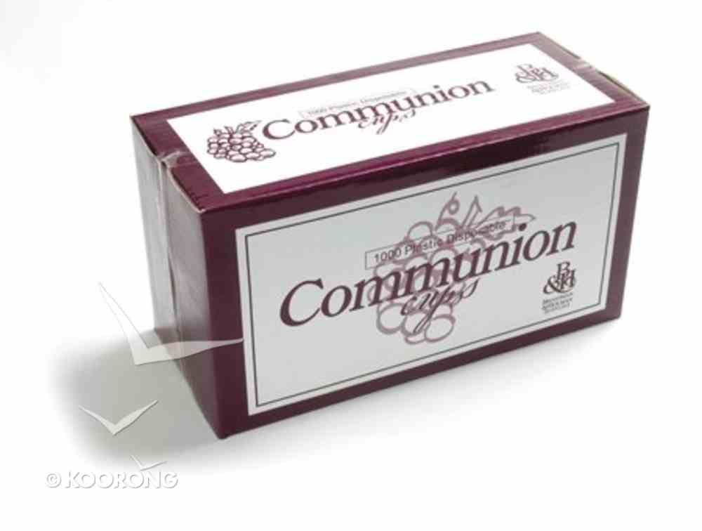 Communion Cups Disposable Recyclable (Box Of 1000) Church Supplies
