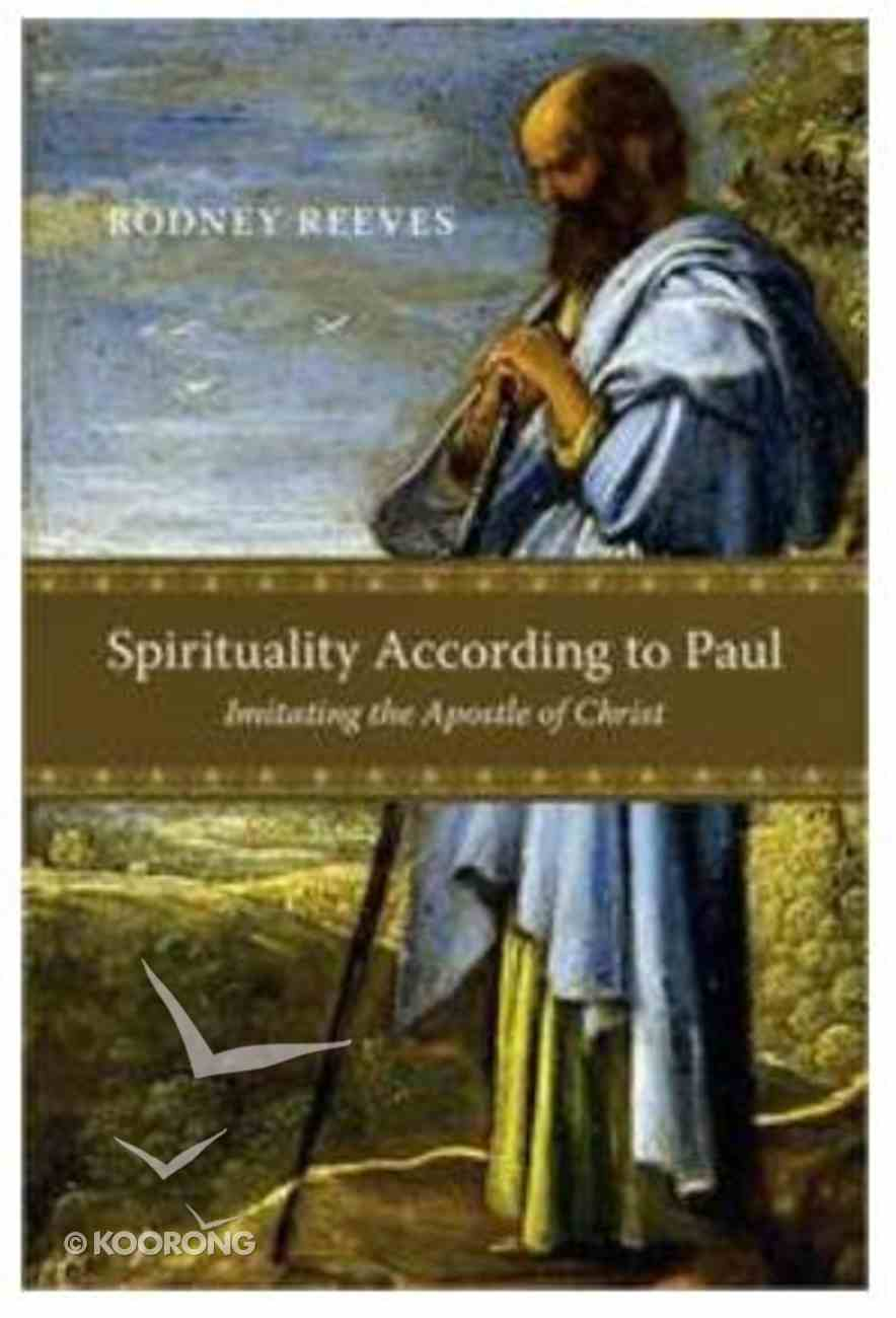 Spirituality According to Paul Paperback