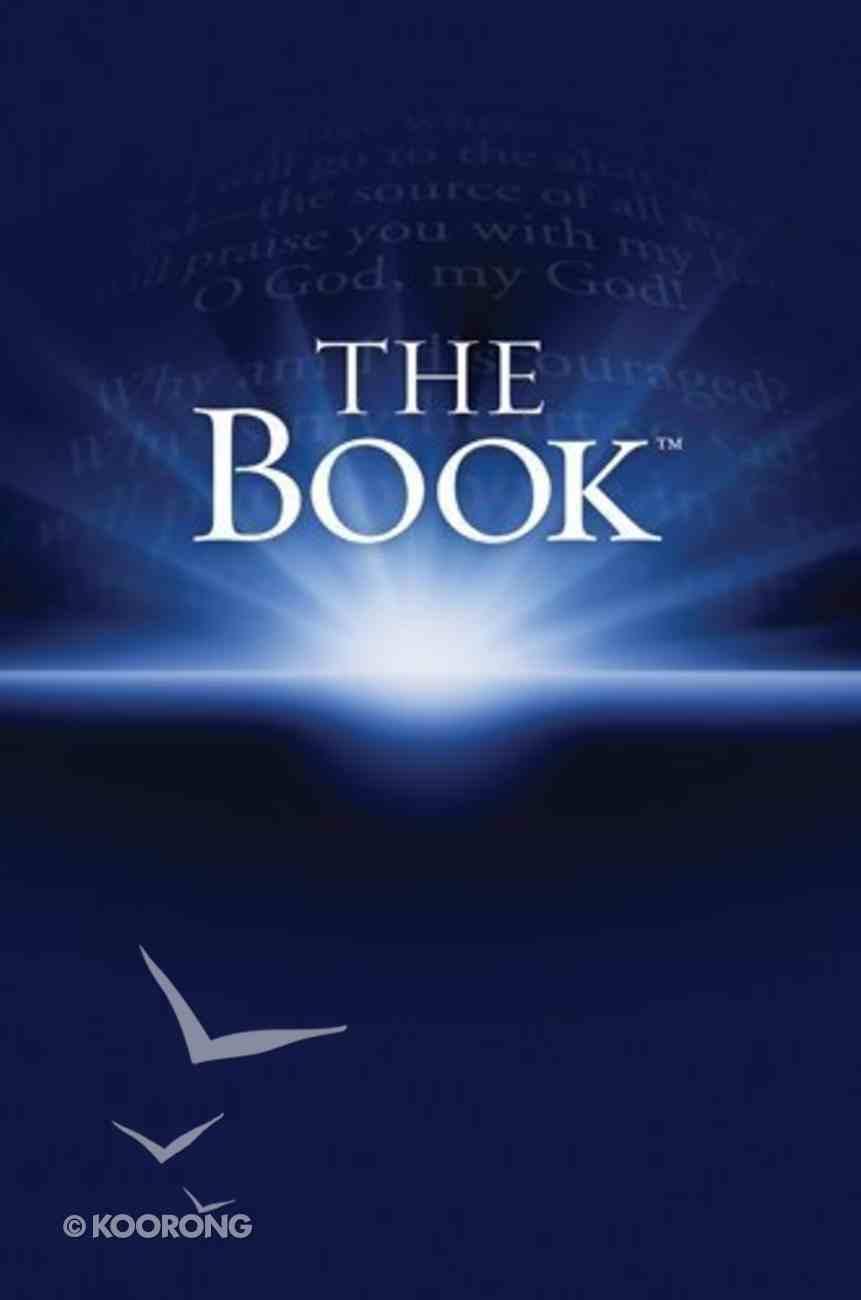 NLT the Book (Black Letter Edition) (1st Ed.) Hardback