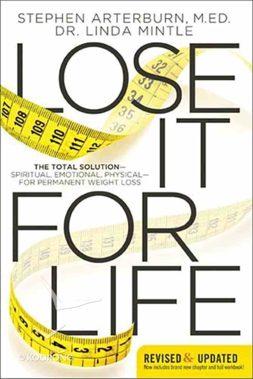 Lose It For Life Paperback