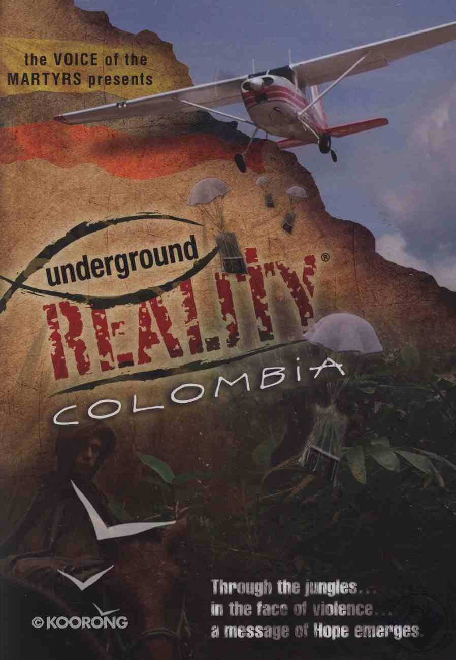 Underground Reality Colombia DVD
