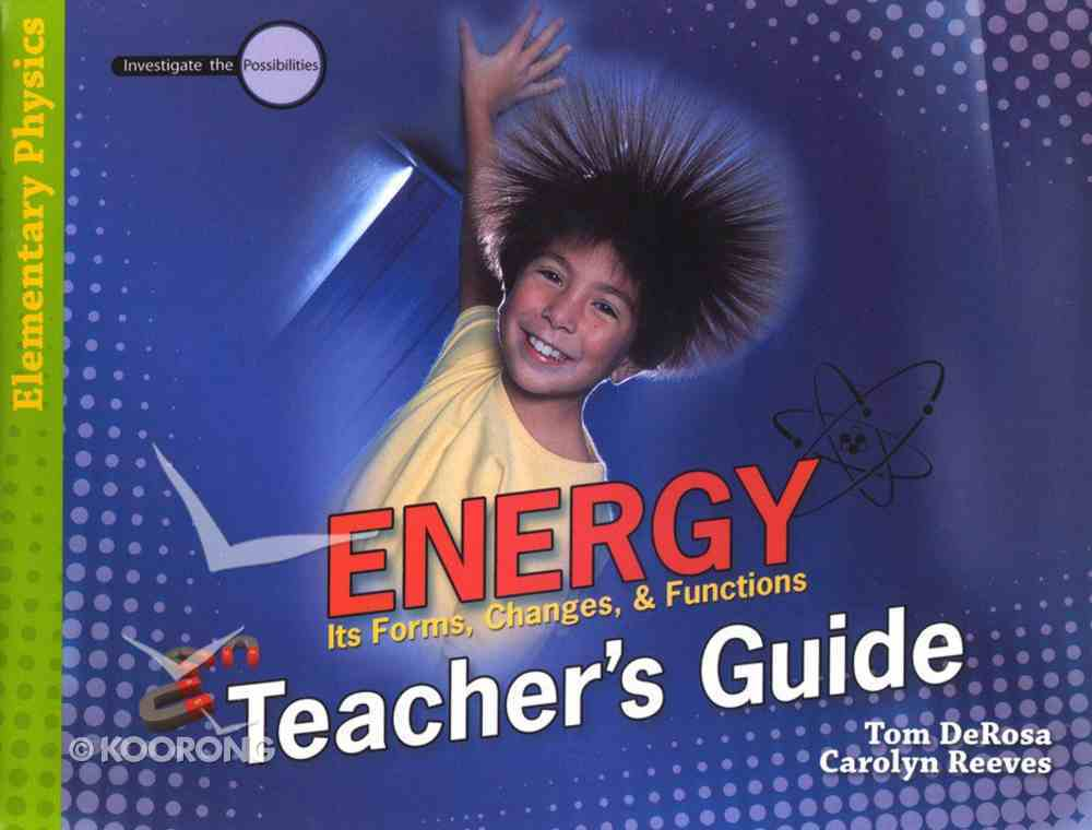 Energy (Teacher's Guide) (Elementary Science Series) Paperback