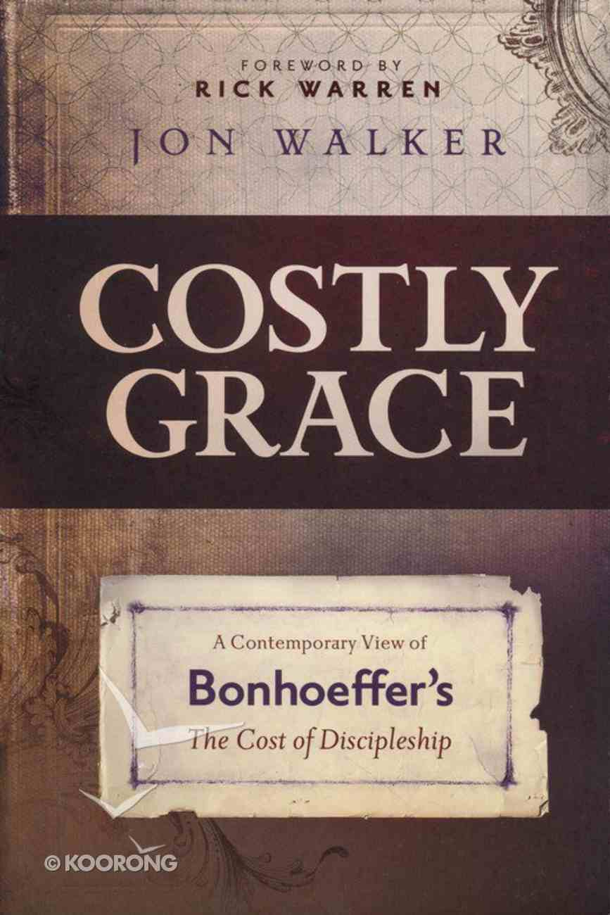 Costly Grace Paperback