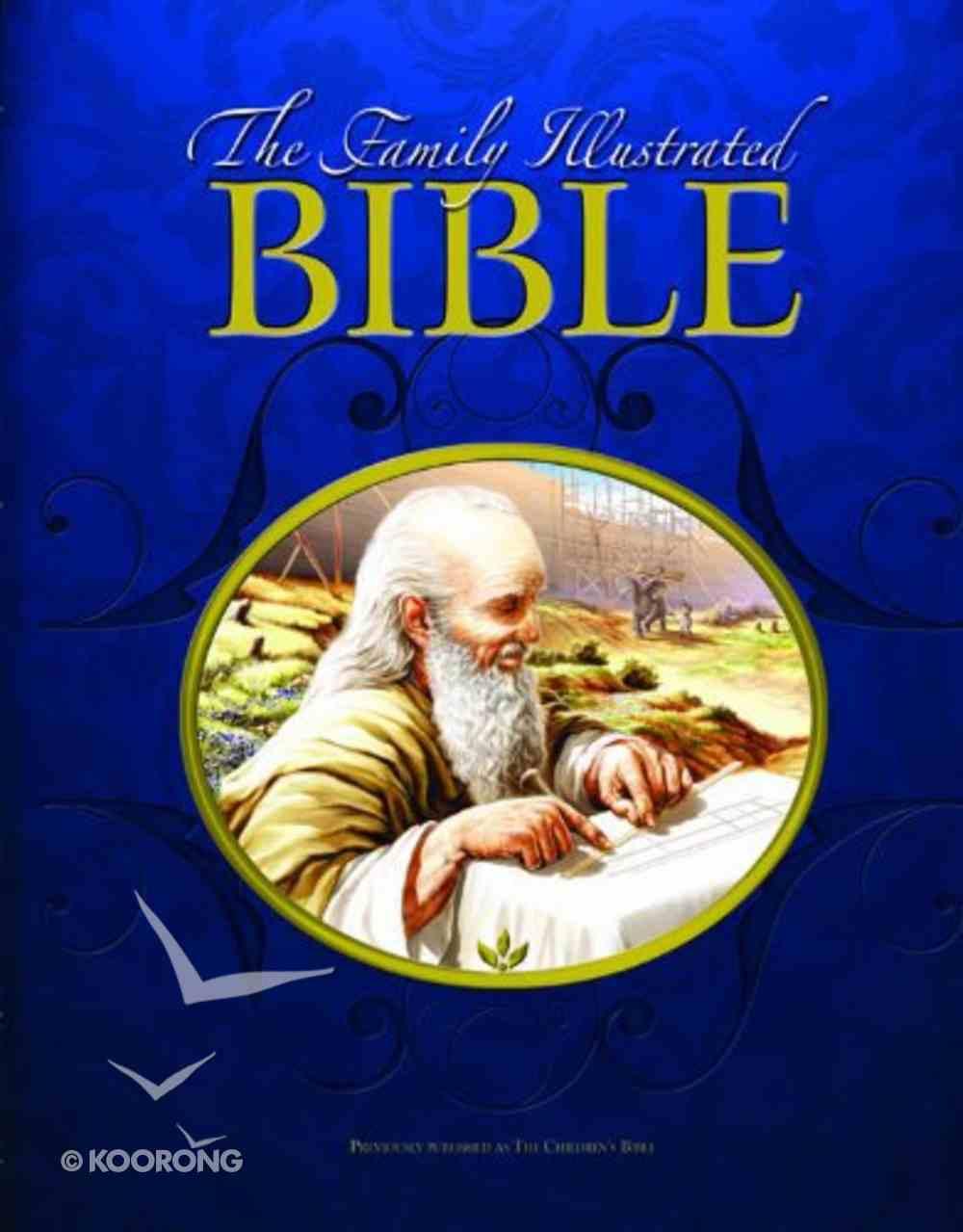 Family Illustrated Bible Hardback