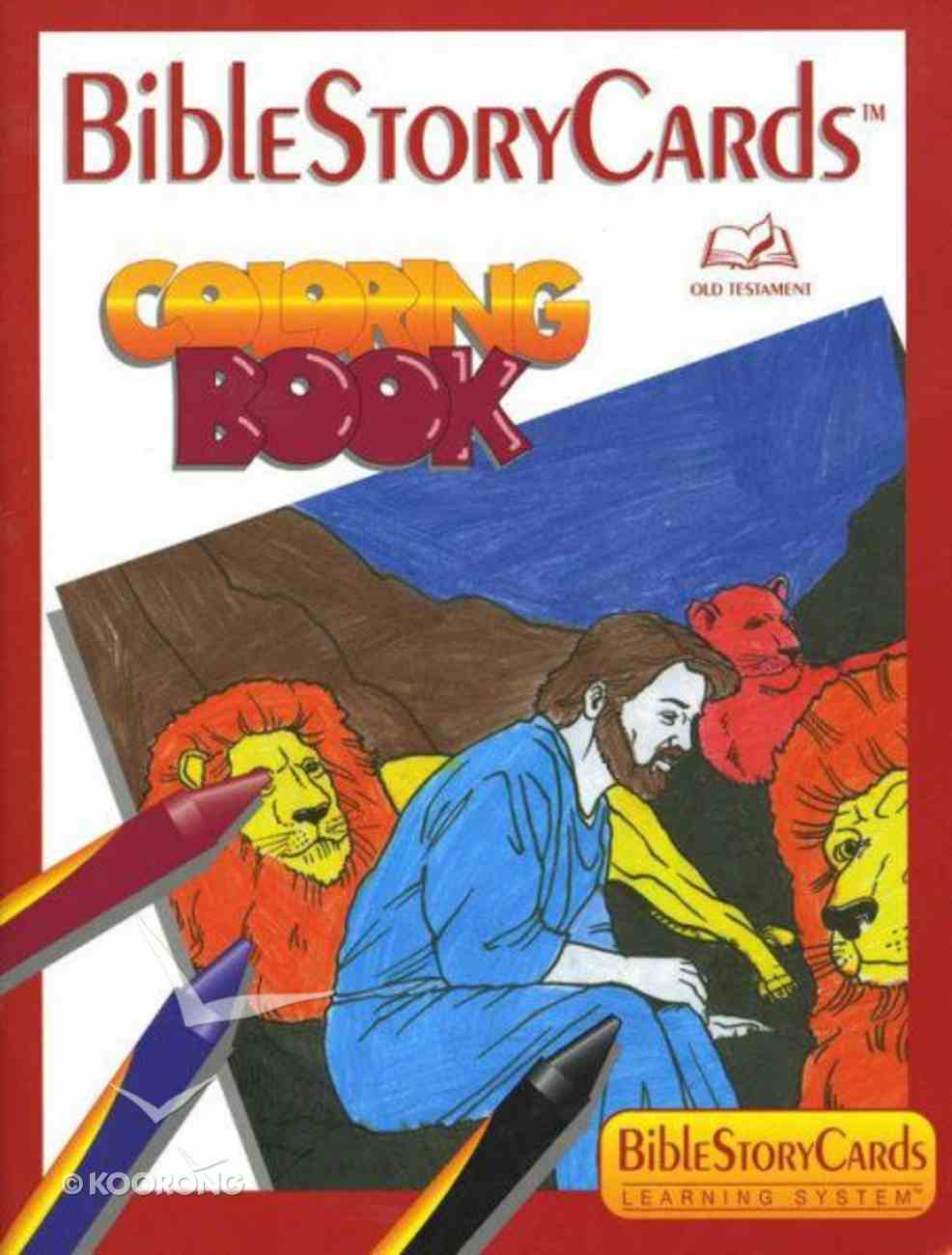Bible Story Card: Colouring Book Old Testament Paperback