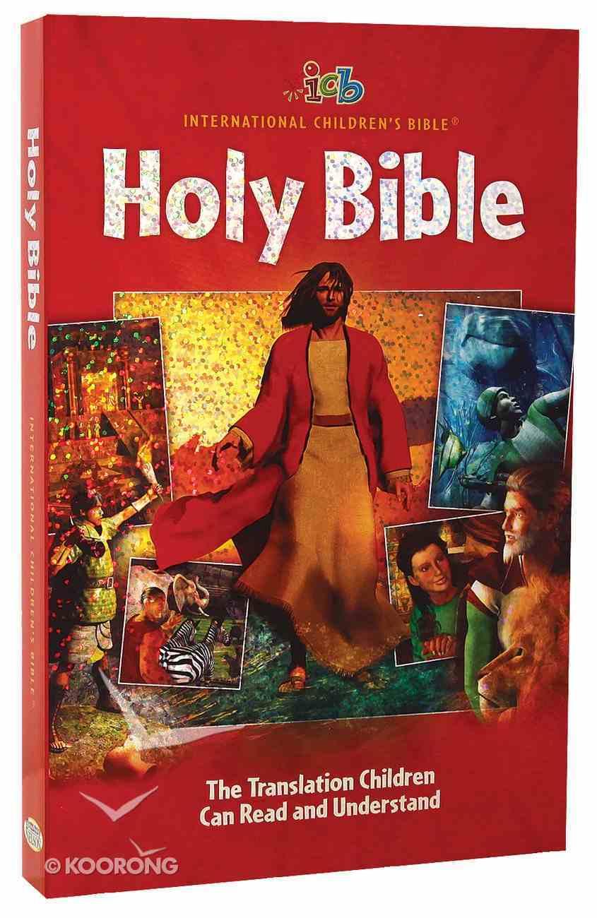 ICB Big Red Holy Bible (3-d Art) Paperback