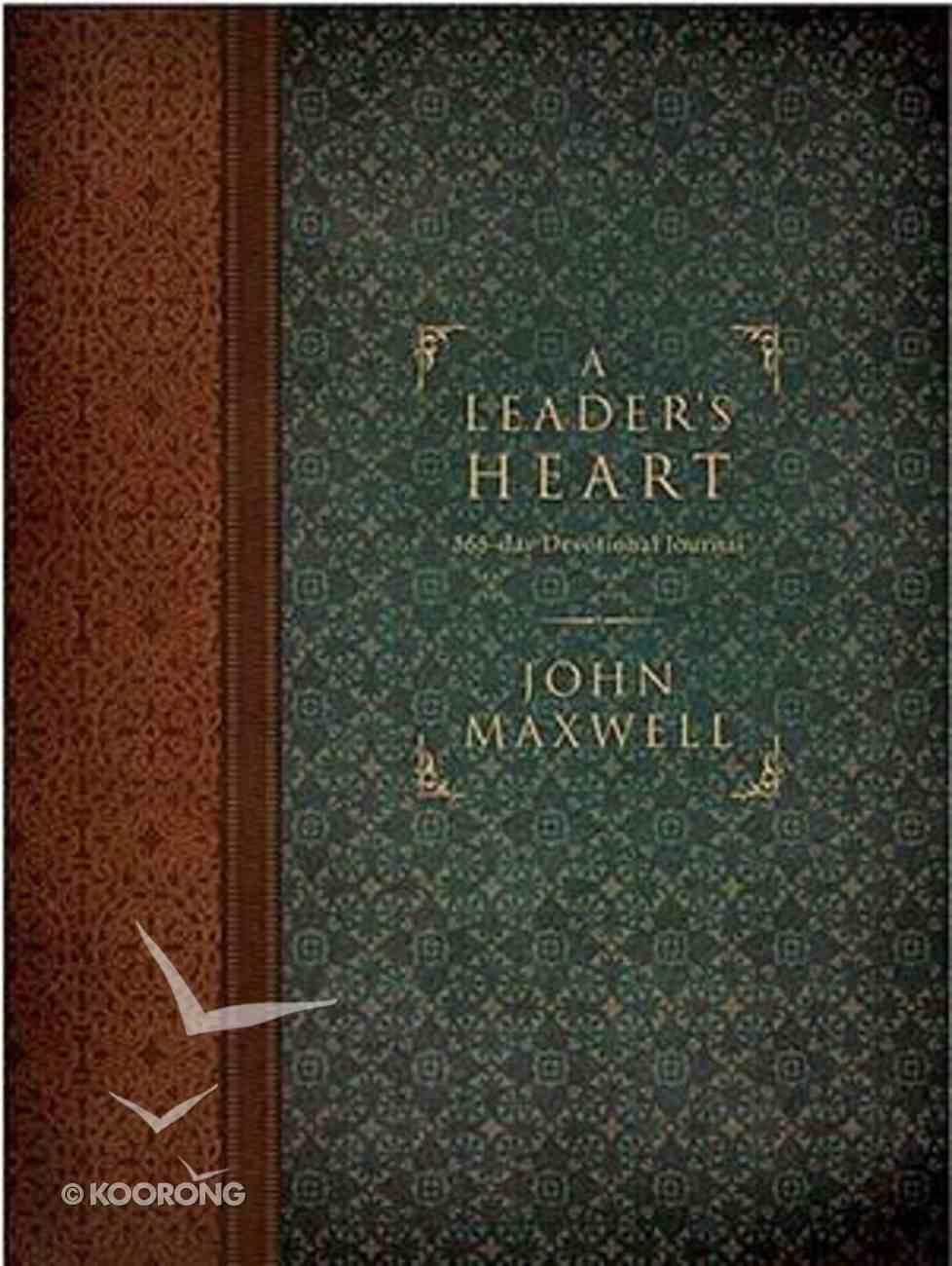Journal: A Leader's Heart Hardback