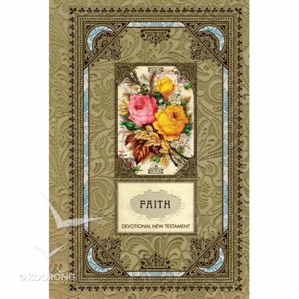 NLT Vintage Gift Collection: Faith Devotional New Testament Hardback