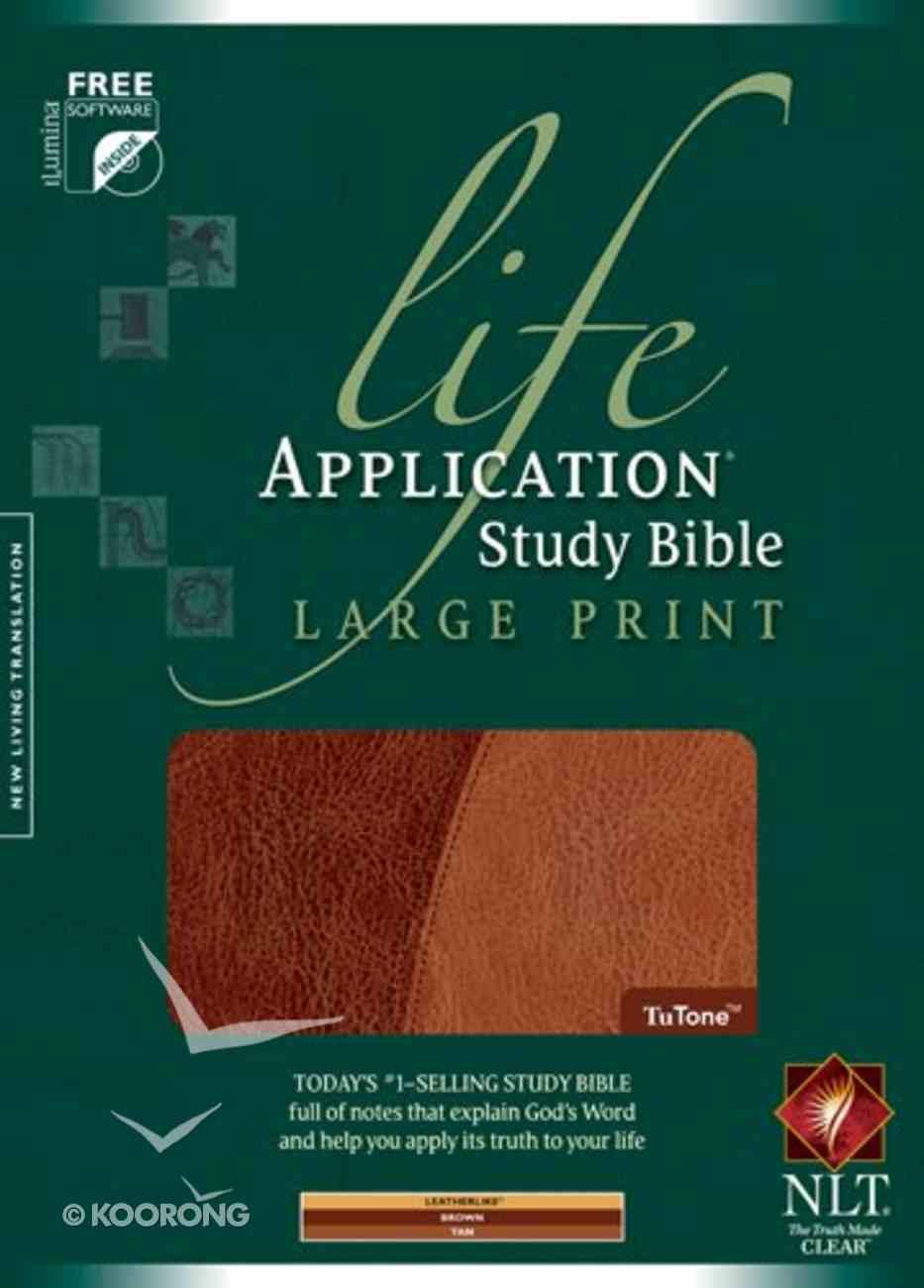 NLT Life Application Study Bible, Brown/Tan (Large Print) Imitation Leather