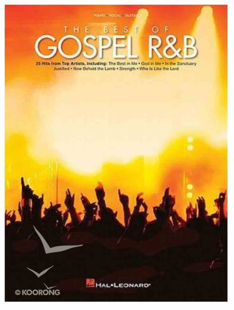 Best of Gospel R&B, the (Music Book) (Piano/vocal/guitar) Paperback