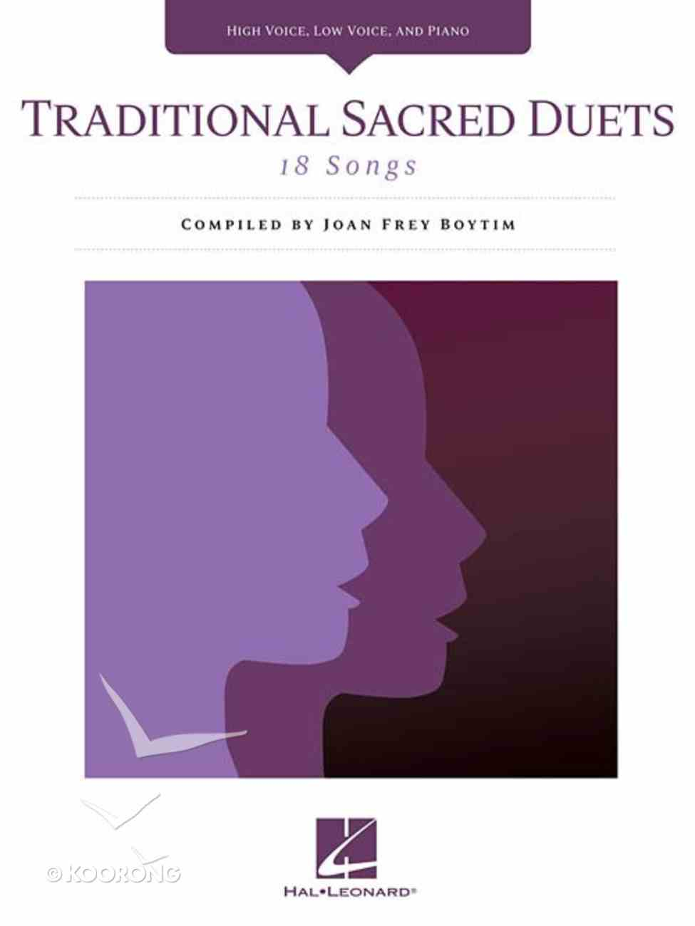 Traditional Sacred Duets Paperback