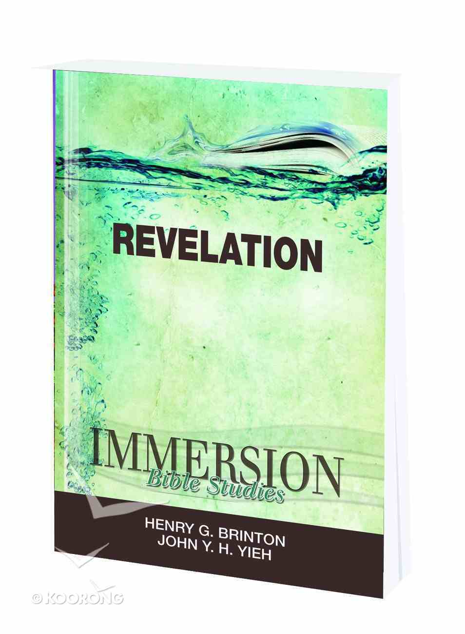 Revelation (Immersion Bible Study Series) Paperback