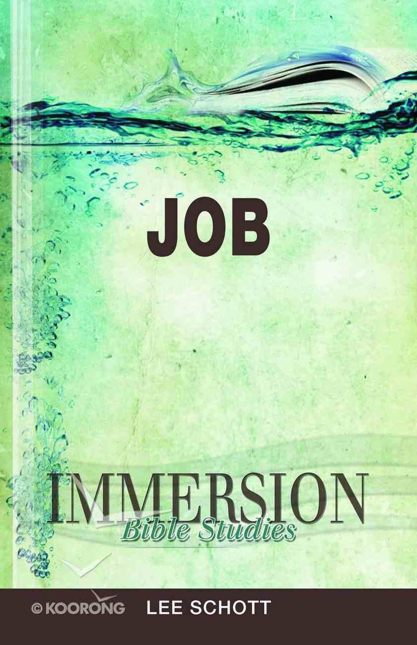 Job (Immersion Bible Study Series) Paperback
