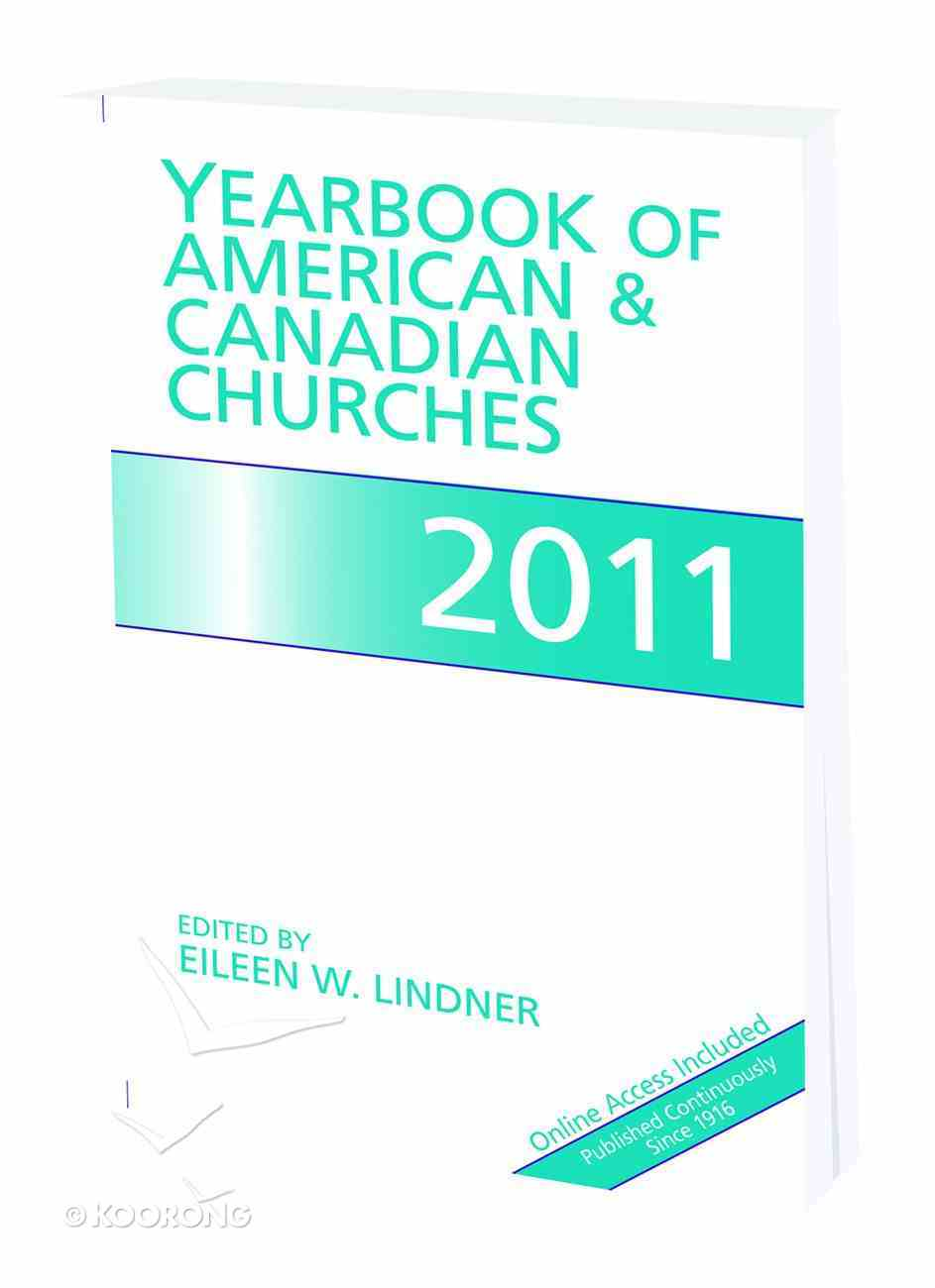 Yearbook of American and Canadian Churches 2011 Paperback