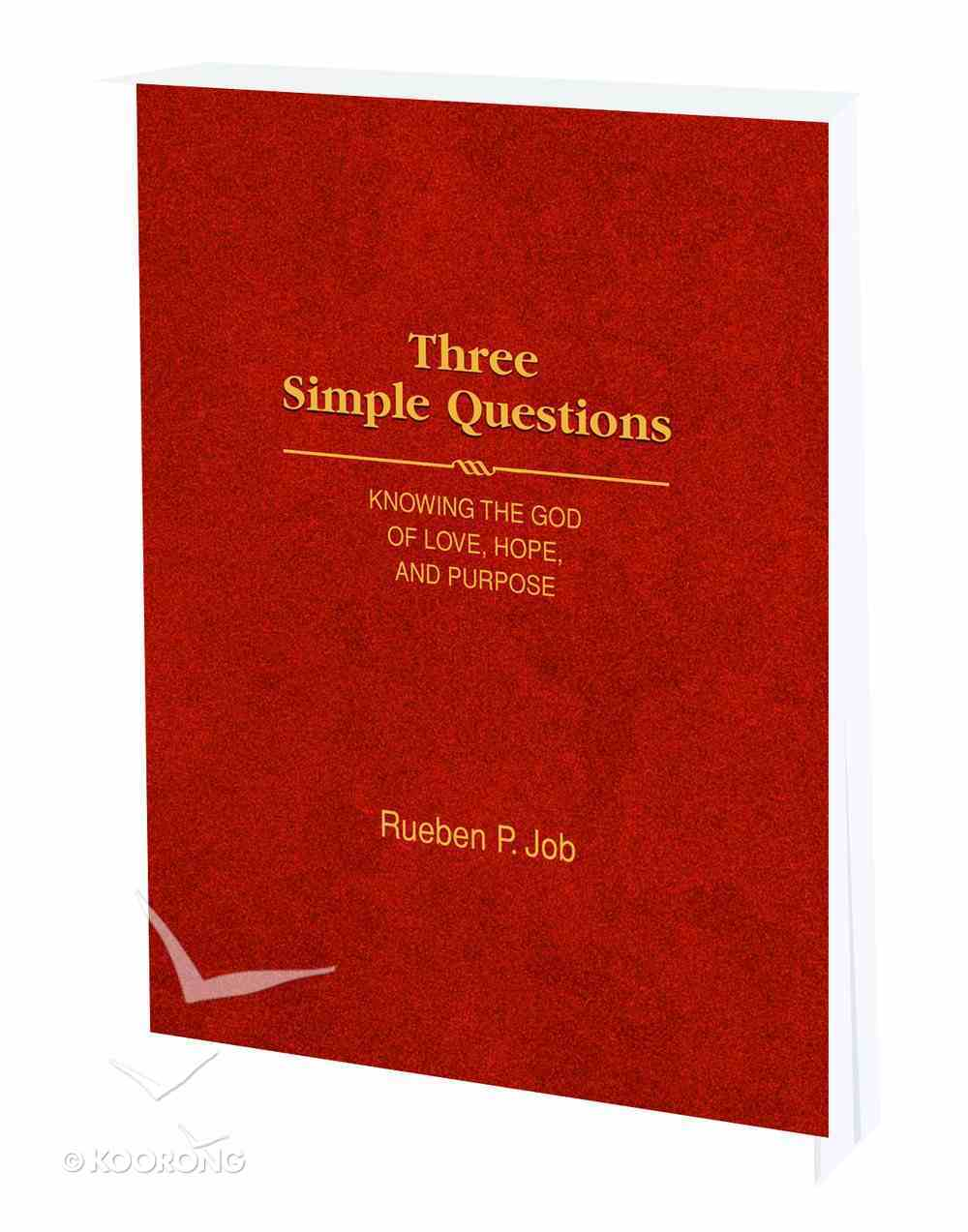 Three Simple Questions Paperback