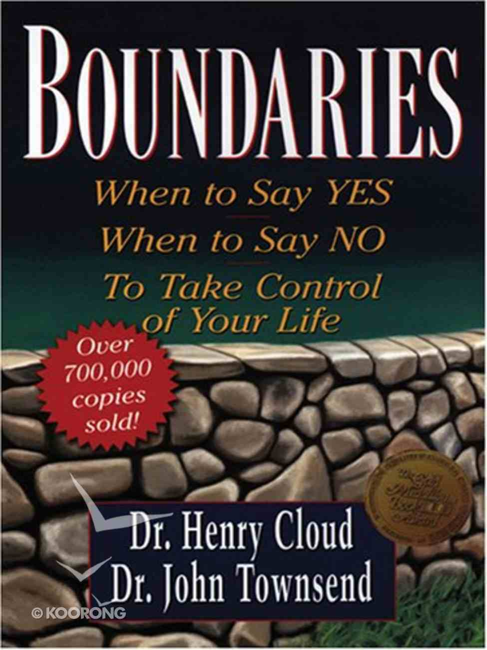 Boundaries (Large Print) Paperback