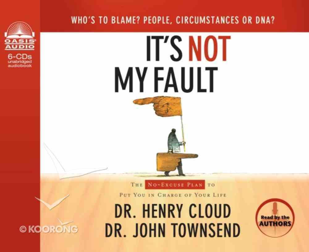 It's Not My Fault (Unabridged 6cds) CD