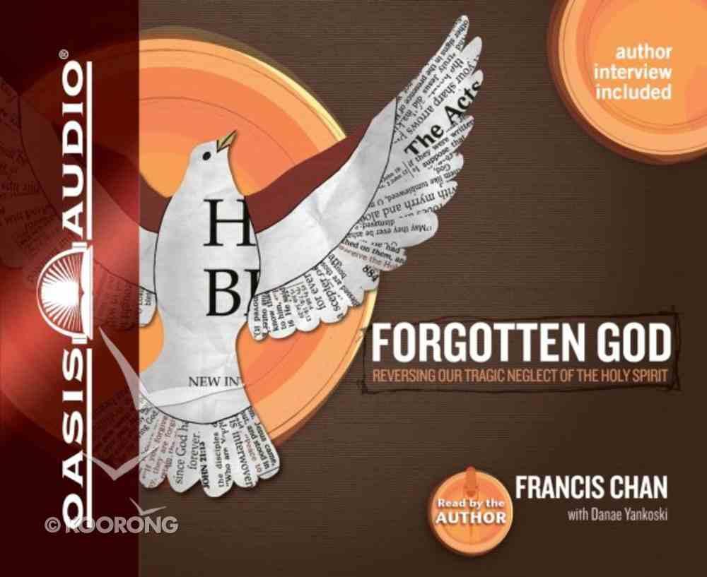 Forgotten God (Unabridged 3 Cds) CD