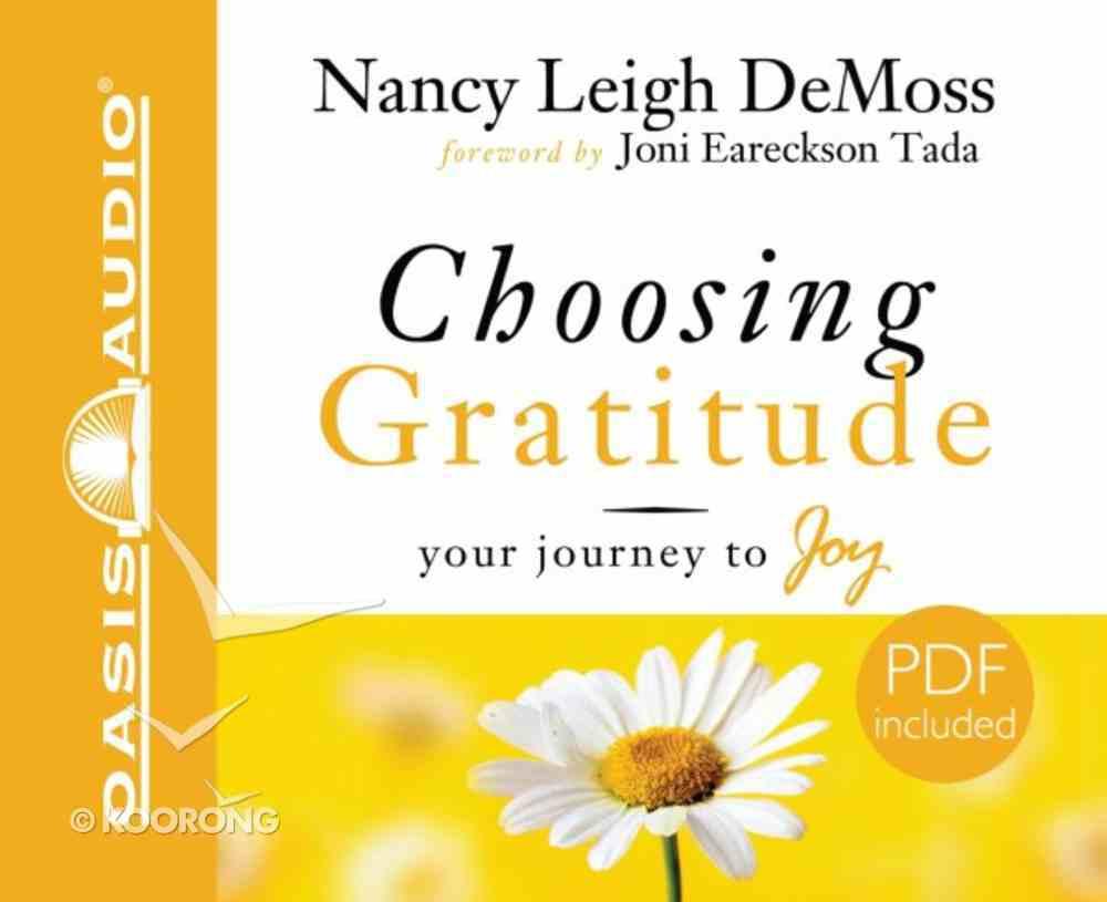 Choosing Gratitude CD