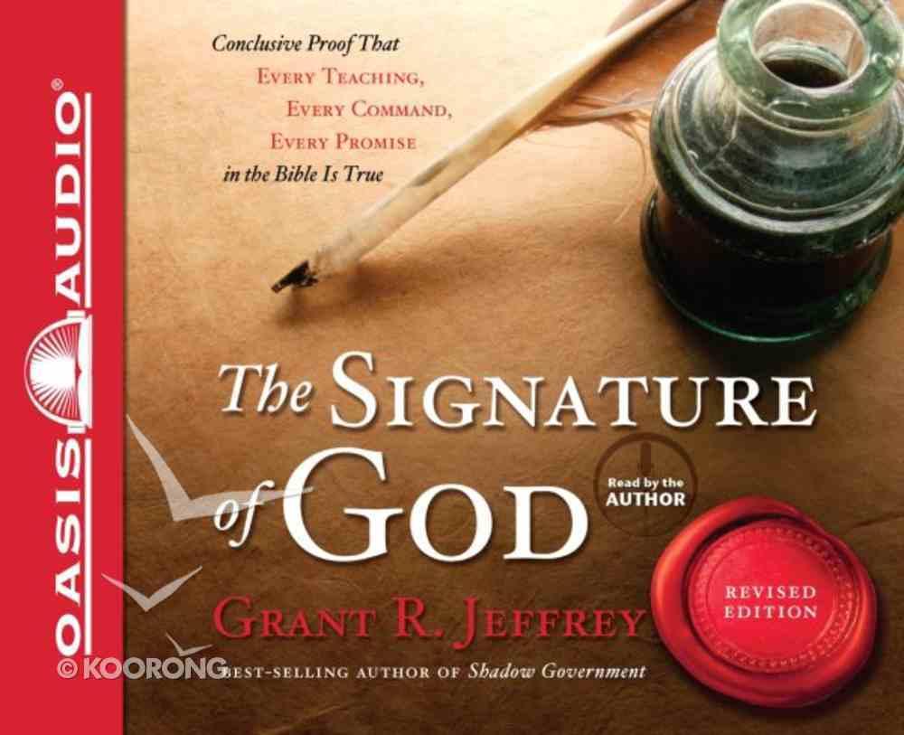 The Signature of God (Unabridged, 8 Cds) CD