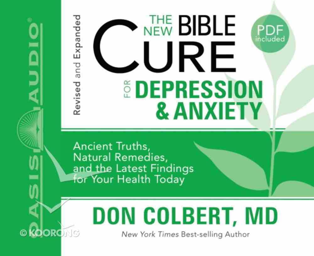 For Depression and Anxiety (Unabridged, 2cds) (The New Bible Cure Series) CD