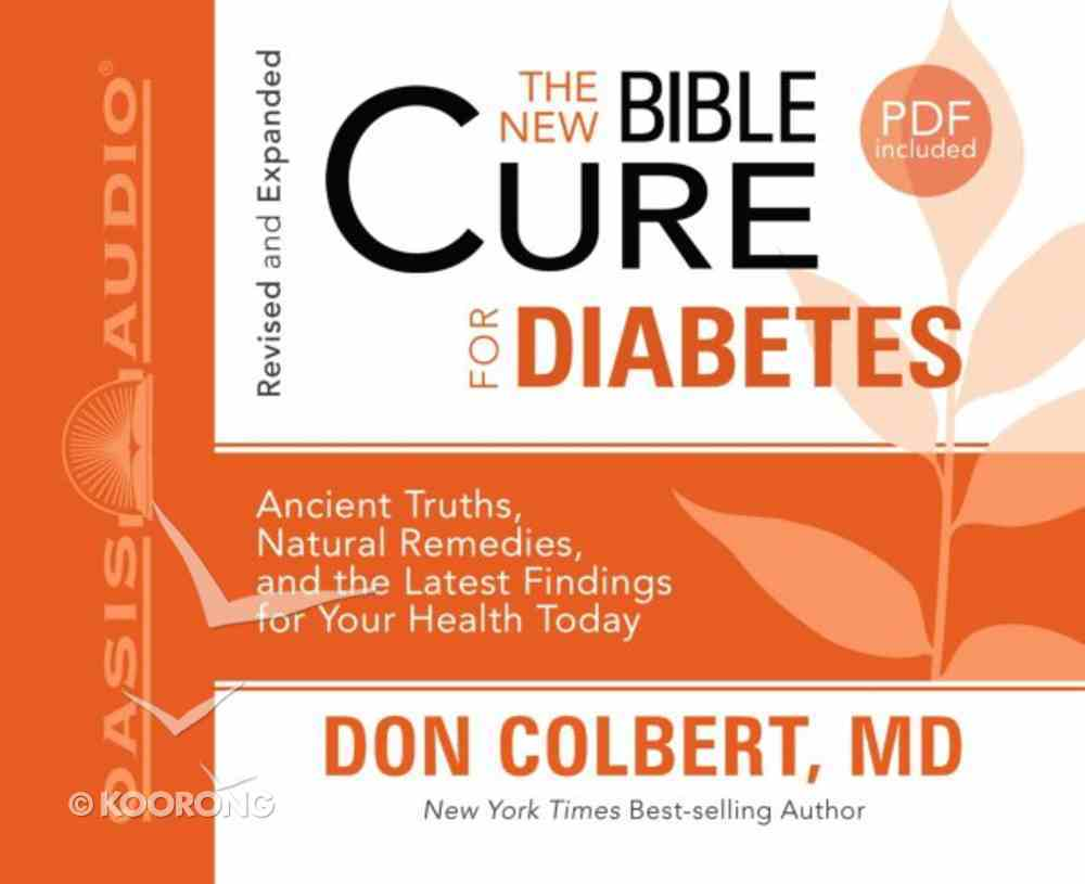 For Diabetes (Unabridged, 2 CDS) (The New Bible Cure Series) CD