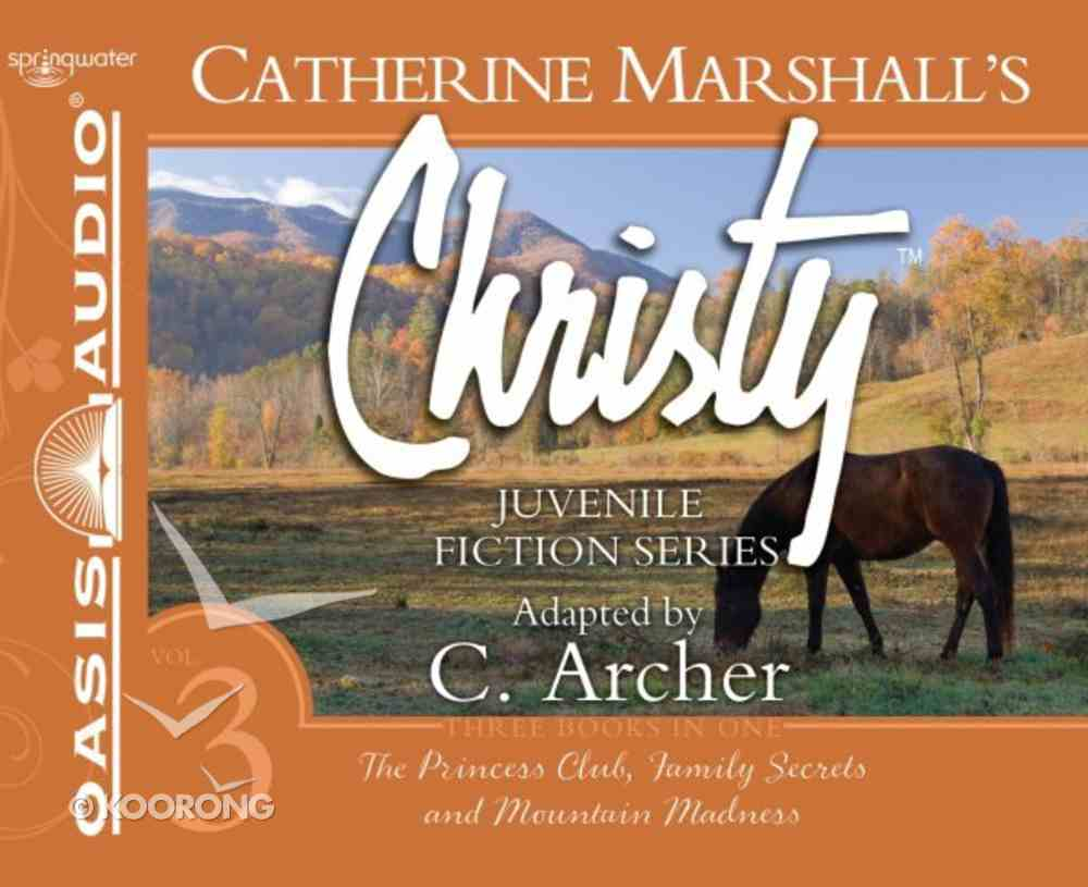 Christy Collection (Unabridged 9 Cds) (Books 7-9) CD