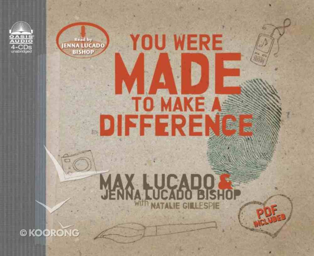 You Were Made to Make a Difference (Unabridged, 4 Cds) CD