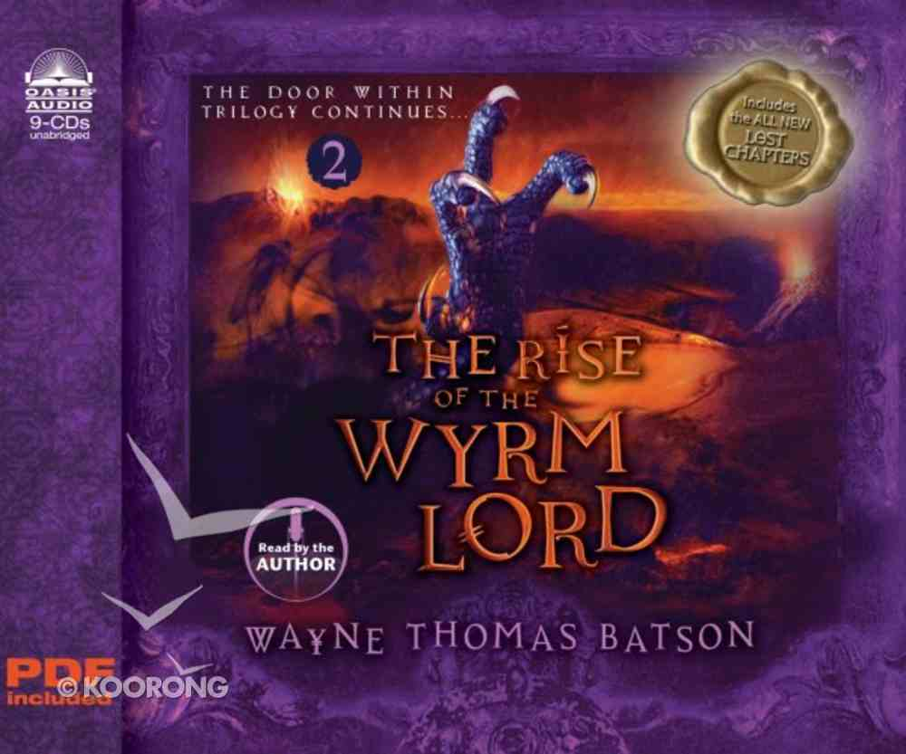 The Rise of the Wyrm Lord (8 CDS Unabridged) (#02 in Door Within Trilogy Series) CD