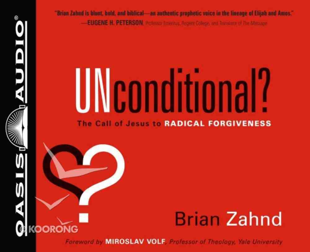 Unconditional? (6 Cds Unabridged) CD