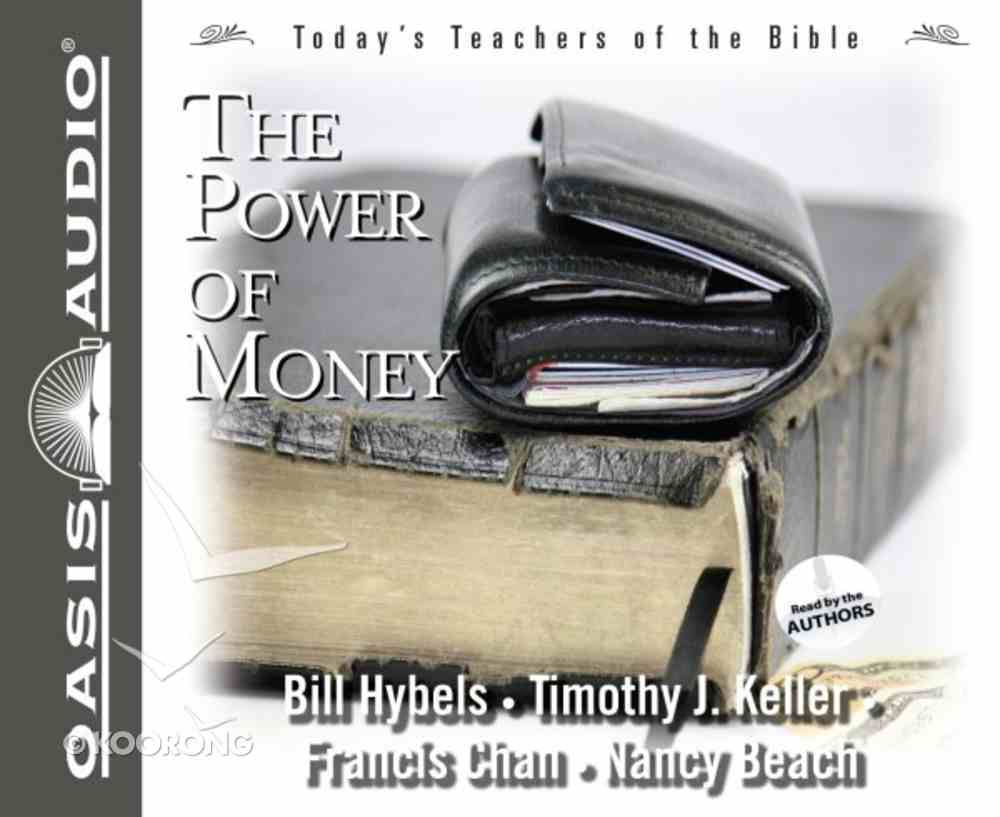 The Power of Money (#3 in Today's Teachers Of The Bible Series) CD