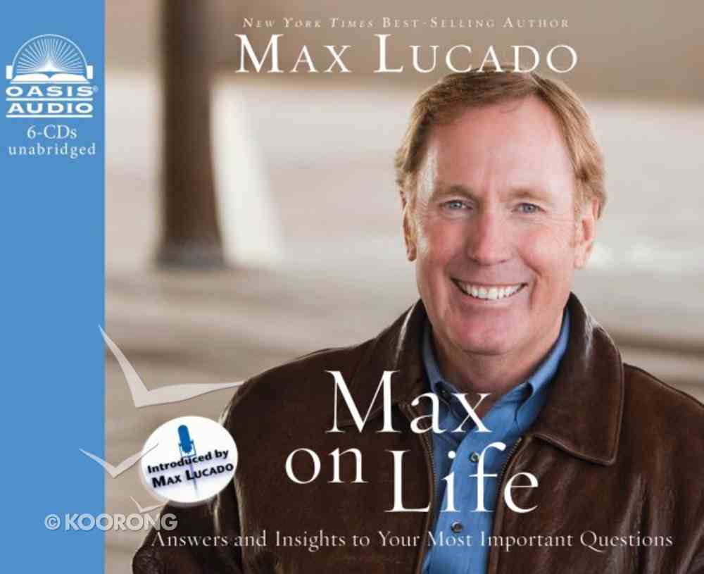 Max on Life (Unabridged, 6 Cds) CD