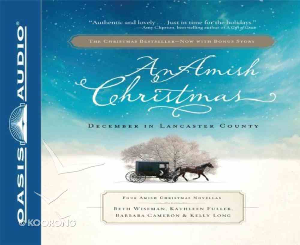 An Amish Christmas (Unabridged, 11 Cds) CD