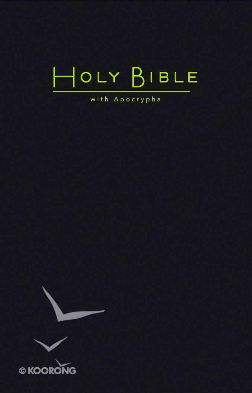Ceb Pew Bible With Apocrypha Black Hardback