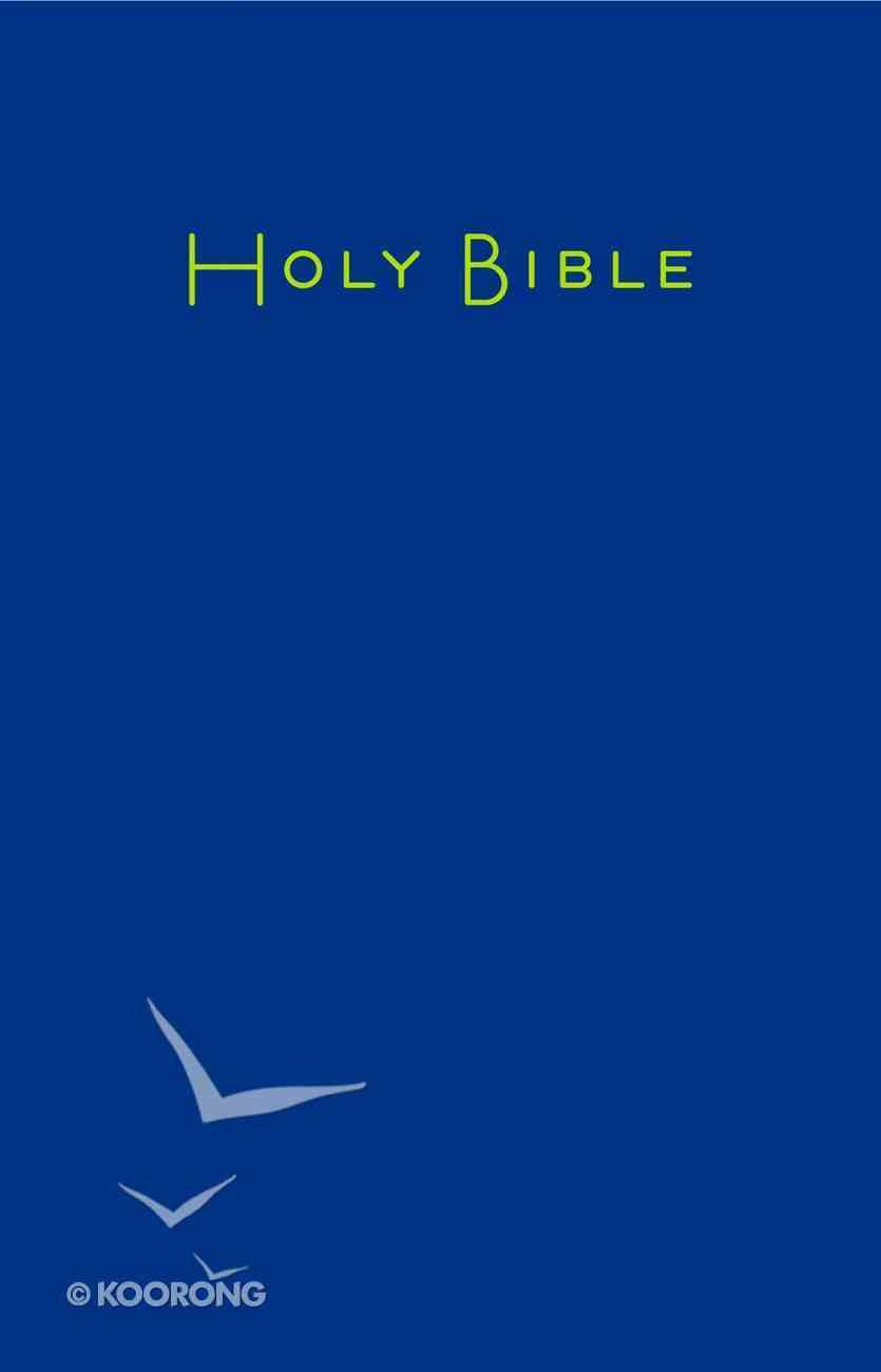 Ceb Large Print Pew Bible Navy Hardback