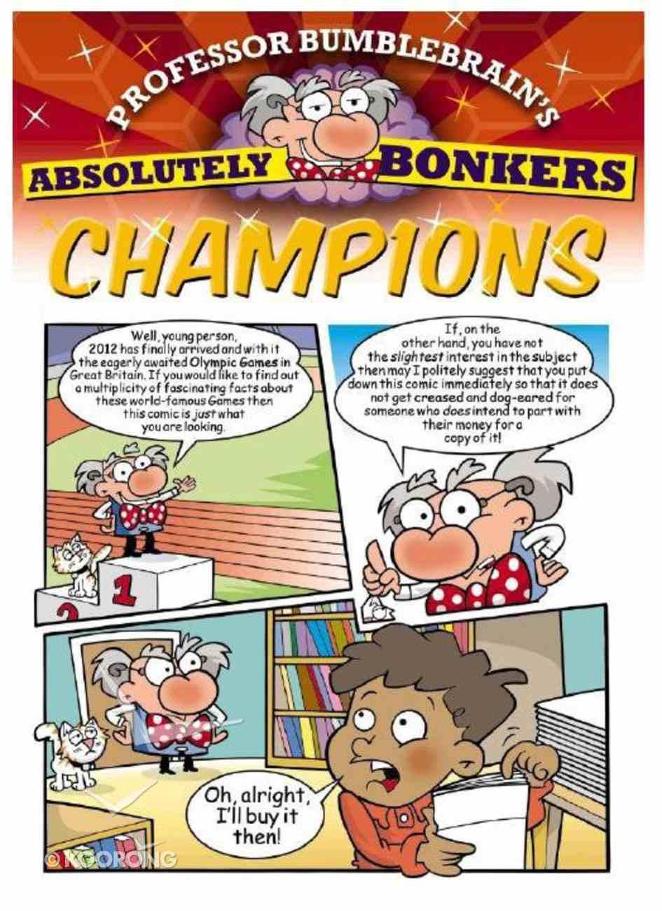 Champions - Kingdom Komics (10 Pack) (Professor Bumblebrain Absolutely Bonkers Series) Pack