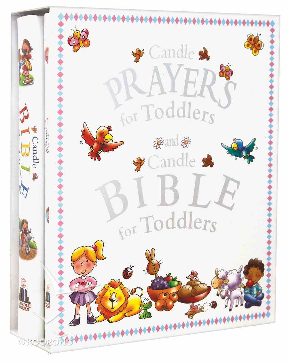 Bible and Prayers Giftset (Candle Bible For Toddlers Series) Hardback
