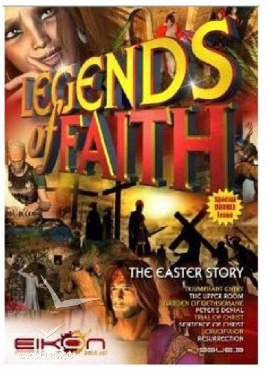 The Easter Story (Special Double Issue) (#05 in Legends Of Faith Comic Book Series) Paperback