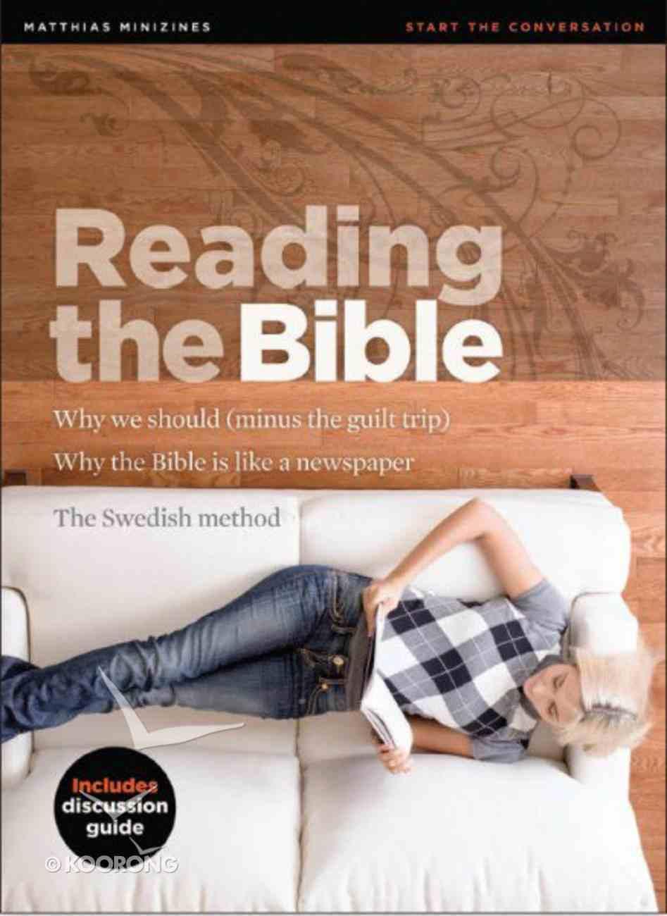 Reading the Bible (Matthias Minizines Series) Magazine