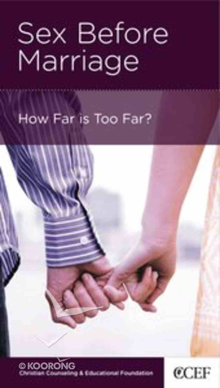 Sex Before Marriage (Mini Books For Singles Series) Booklet