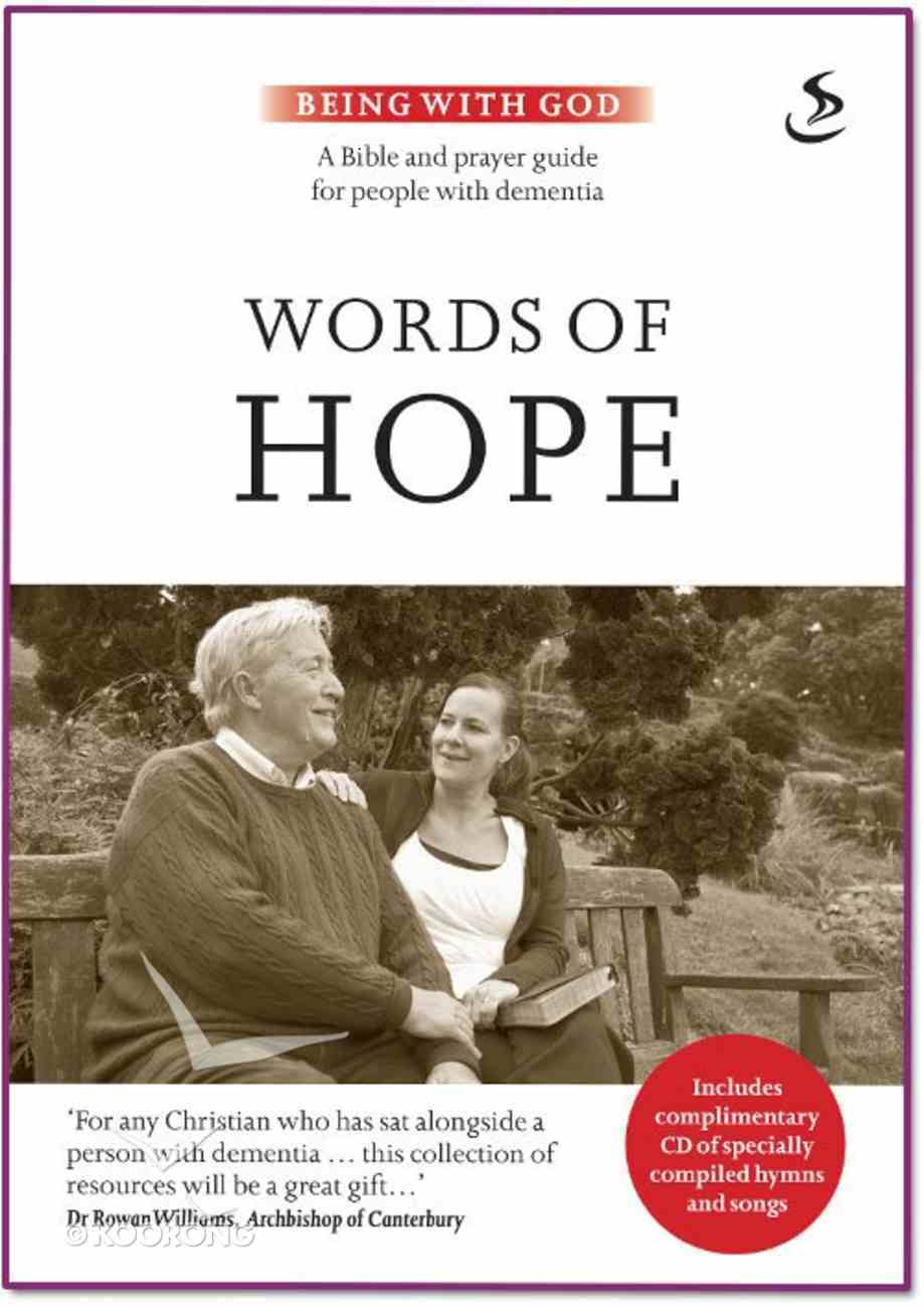 Words of Hope (Being With God Series) Paperback
