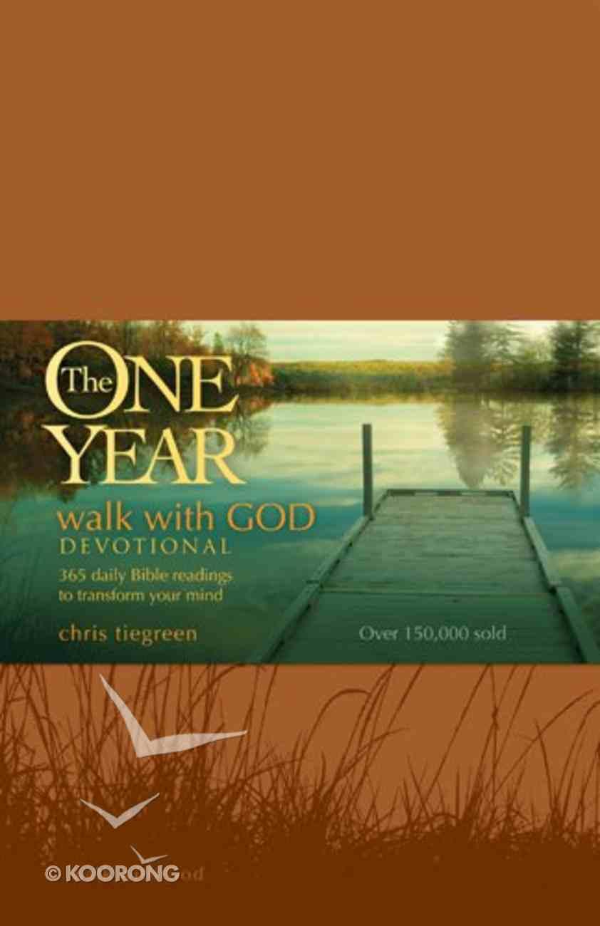 Walk With God Devotional (One Year Series) Imitation Leather