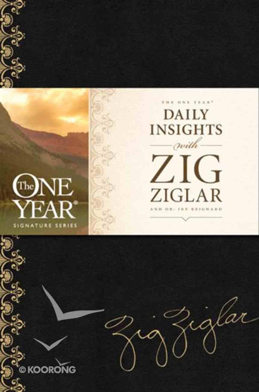 The One Year Daily Insights With Zig Ziglar Imitation Leather