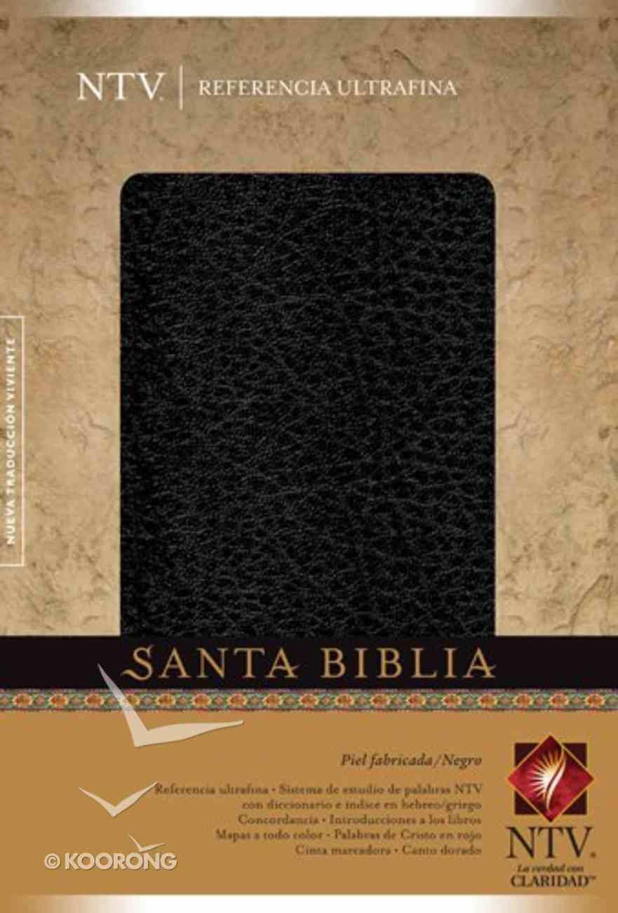 Ntv: Referencia Ultrafina Black (Slimline) Bonded Leather