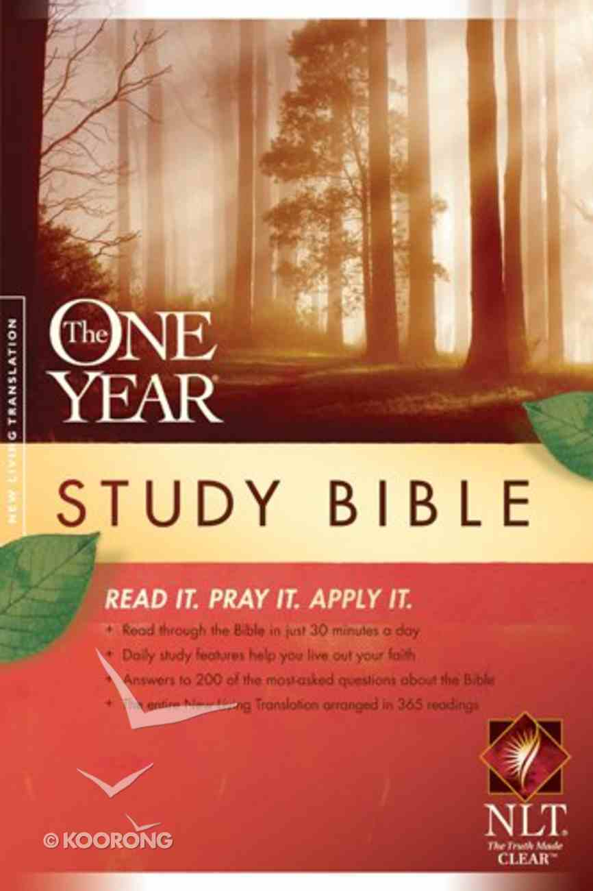 NLT One Year Study Bible Paperback