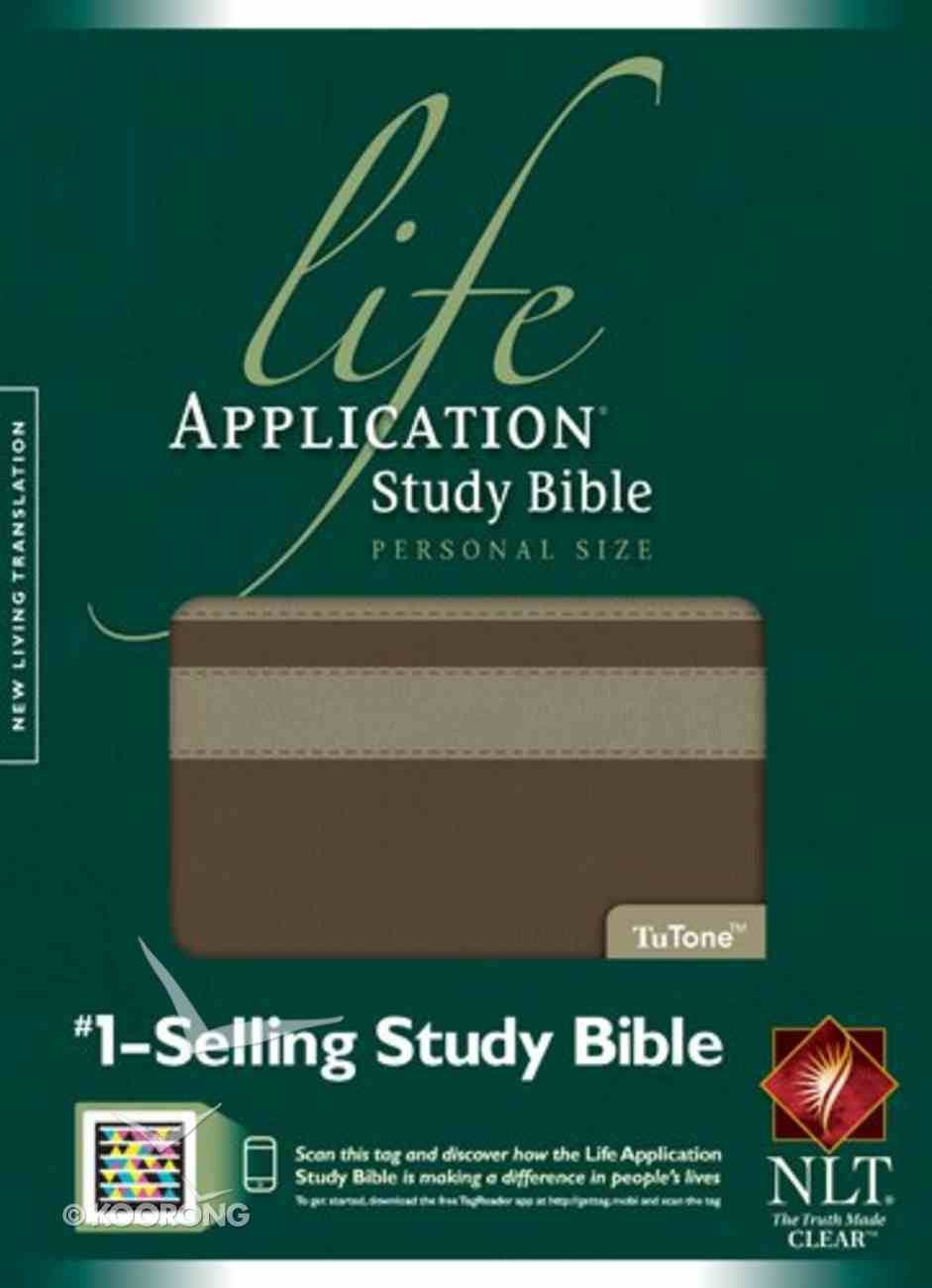 NLT Life Application Study Bible Personal Size Taupe/Stone (Black Letter Edition) Imitation Leather