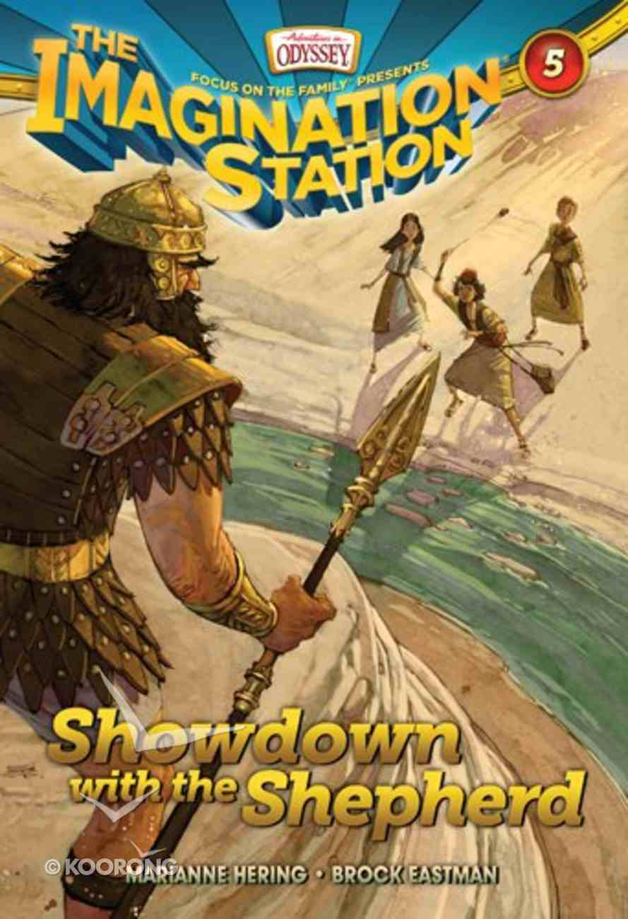 Showdown With the Shepherd (#05 in Adventures In Odyssey Imagination Station (Aio) Series) Paperback