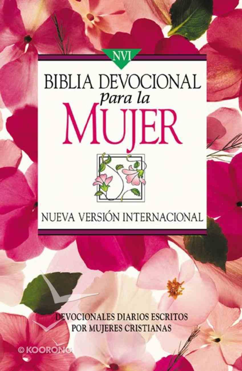 Nvi Devocional Para La Mujer (Women's Devotional Bible) Paperback